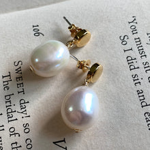 Load image into Gallery viewer, Freshwater Pearl Studs