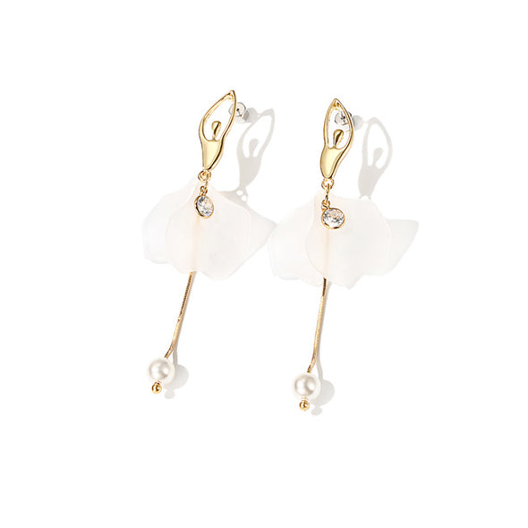 Ballerina Girl Drop Earrings