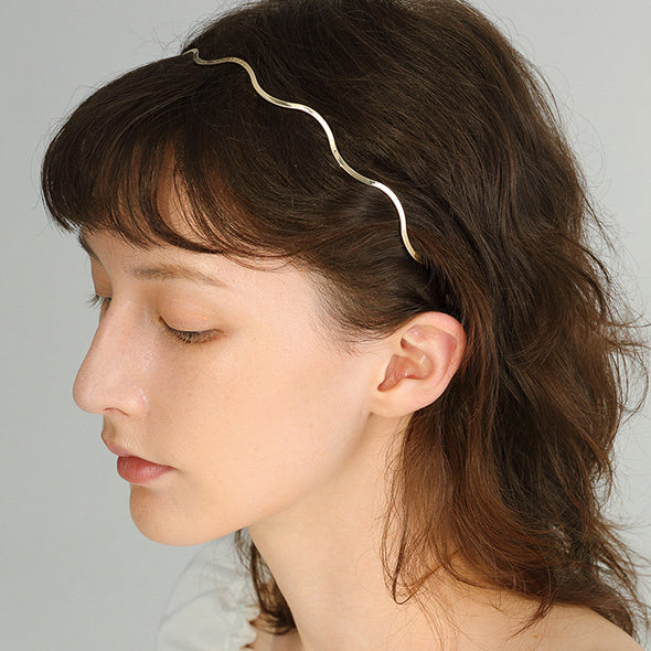 Wave Gold Hairpin