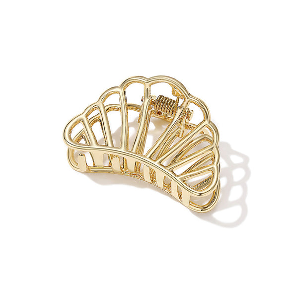 Spring Claw Gold Hairpin