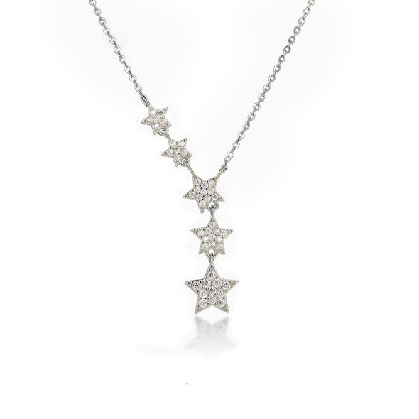 Five Star Crystal Necklace