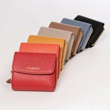 Load image into Gallery viewer, WOMEN MINI LEATHER WALLET