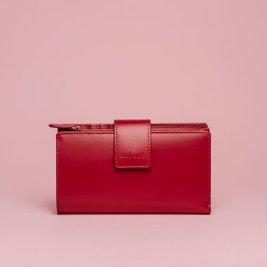 FREEDA LEATHER WALLET MIDI