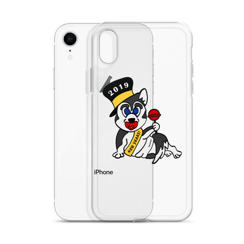 """New Year's Baby Husky"" iPhone Case"