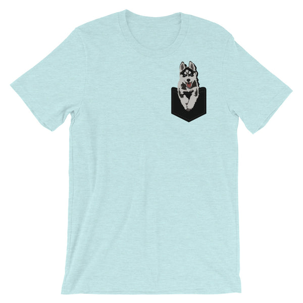 Pocket Husky T-Shirt (19 Colors Available)