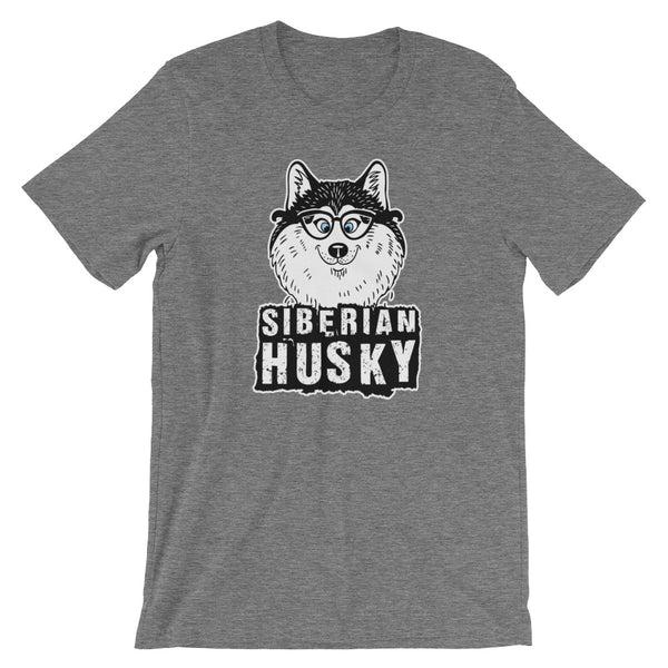 """Siberian Husky"" Short-Sleeve T-Shirt"