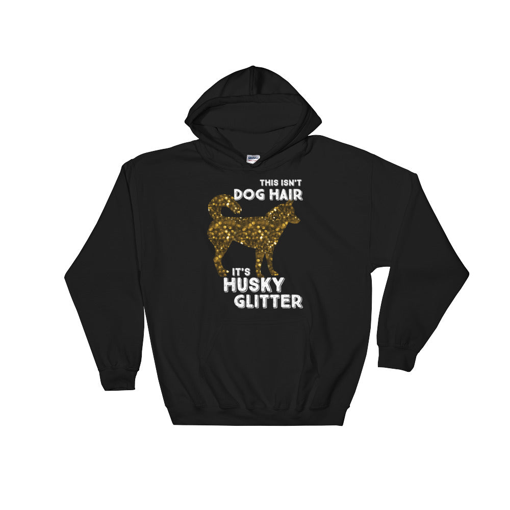 """Husky Glitter"" Hooded Sweatshirt"