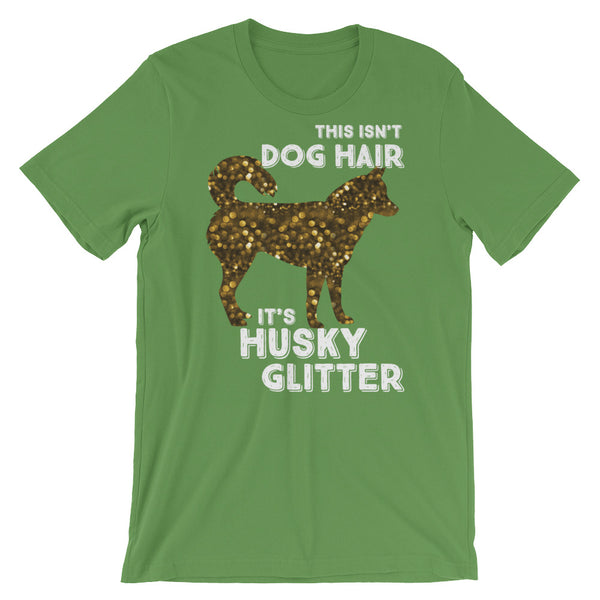 """Husky Glitter"" Short-Sleeve T-Shirt"