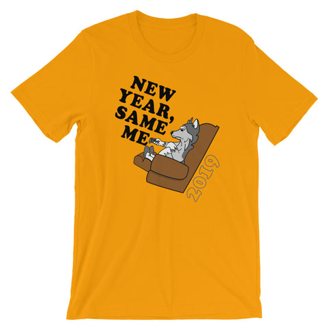 """New Year, Same Me"" Short-Sleeve T-Shirt"