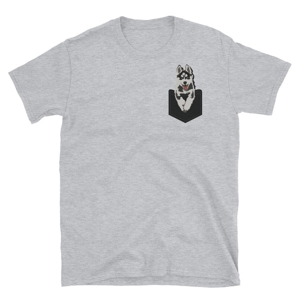 Pocket Husky T-Shirt (4 Colors Available)