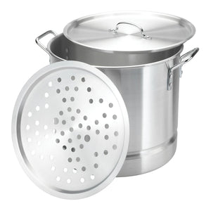 Aluminum Stock Pot with Streamer 8 PCS/SET 8-20QT