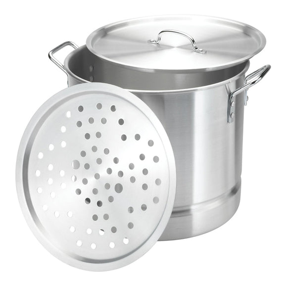 Aluminum Stock Pot with Streamer 8 PCS/SET 24-52QT