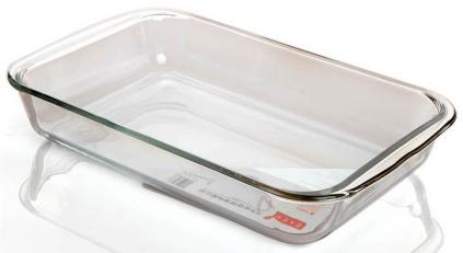 Borosilicate Glass Bake Pan