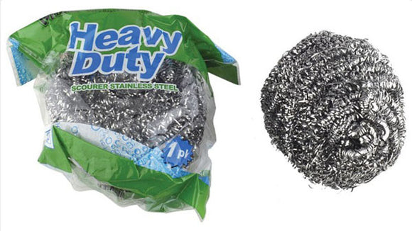 Stainless Steel Heavy Duty Scourer 80GM NO RUST