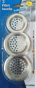 3 pcs Stainless Steel Sink Filters