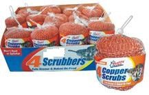 Copper Scrubber 4PCS/PK