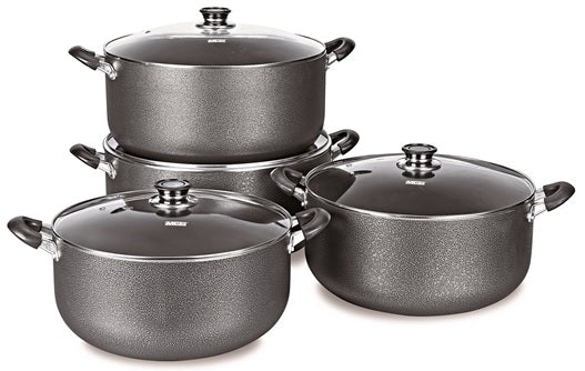Non-stick Aluminum Stock Pot 8 PCS/SET