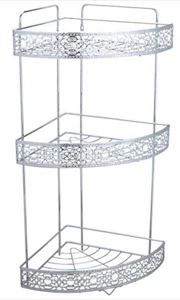 Bathroom 3 Tiers Corner Rack