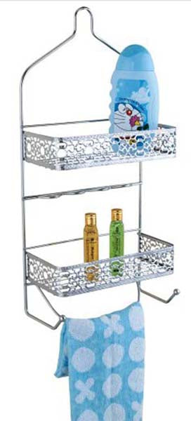 Bathroom 2 Tiers Shower Caddy