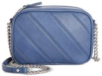 I.N.C. Seyenna Patch Crossbody, Chambray/Silver