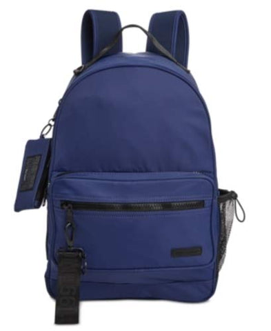 Steve Madden Play Backpack with ID Case - Navy/Black