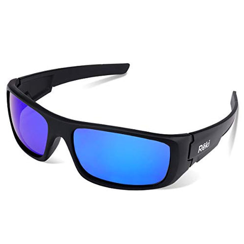 AvimaBasics x Reki Polarized Sports Sunglasses for Men Women Cycling Running Driving Fishing