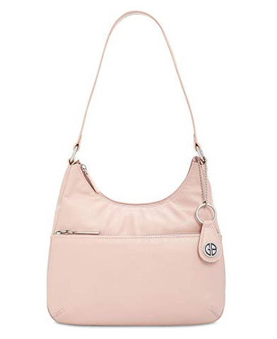 Giani Bernini Nappa Leather Hobo RoseSilver