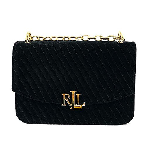 Ralph Lauren Chain Shoulder Bag, Black