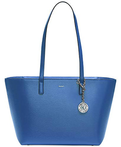 DKNY Sutton Leather Bryant Medium Tote (Azure)