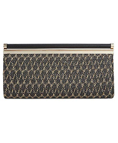 INC International Concepts I.N.C. Carolyn Straw Clutch