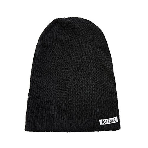 AVIMA Reversible Beanie Hat for Men, Women and Kids in Many Colors Stretchy Comfy