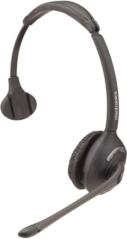 Plantronics 86919-01 Spare WH300 Over The Head Monaural Headset DECT 6.0 for CS510 and CS500 Series, Headset Only