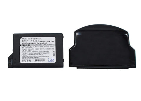 Replacement Battery for Sony Lite PSP 2th PSP-2000 PSP-3000 PSP-3004 Silm Part NO Sony PSP-S110