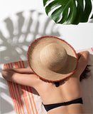 INC Pop Fray Edge Floppy Sun Hat