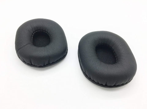 Blue Parrot B350 Xt Earpads Cushion Cover Cups Repair Parts by Reki - Compatible With VXI Blueparrott B350-XT, Jabra BIZ 1500, Cyber Acoustics AC-204 & Logitech H110 | VXI-203479-L2, GTW 8720-0