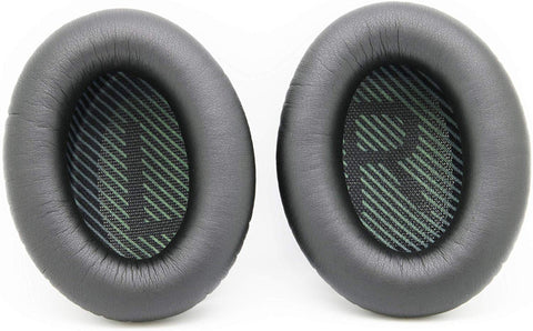 Headphone Replacement Ear Pads by AvimaBasics – Premium Around Ear Cover Pads Compatible with Bose Quiet Comfort QC35 – Headphone Cushions for Enhanced Comfort and Clear Sound