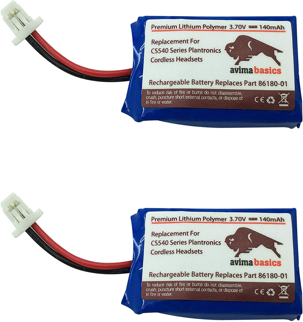 Cs540 Battery Premium Quality Replacement Rechargeable 140mah 3 7v Ba Orderfly