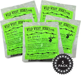 Premium Delicious 100% Natural Elk Sweet Pepper 2 OZ. Wild West Jerky