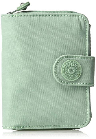 Kipling Women's New Money Snap Wallet, Fern Green Tonal…