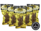 Natural Style 1 OZ. Smoked Cajun Alligator Jerky – 100% Made From Solid Strips of Gator - No Preservatives - High Protein - Low Carbs
