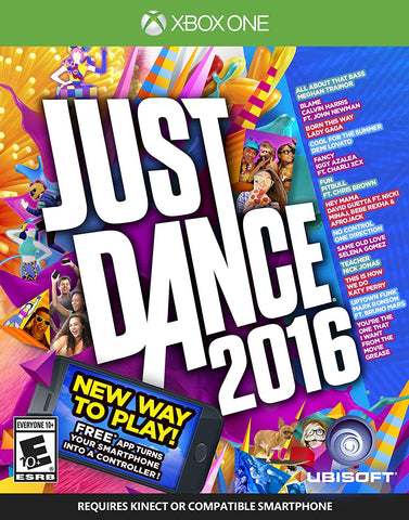 Just Dance 2016 (Microsoft Xbox One, 2015) Brand New, Sealed