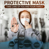 Premium Protection 5-Layer Face Mask for Dust, Pollution, Outdoor, Home, Office – Comfortable & Breathable Disposable Face Mask