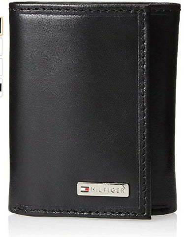 Tommy Hilfiger Men's Leather Trifold Wallet 31TL110005