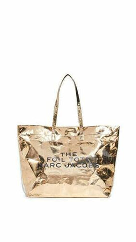 Marc Jacobs Women's The Foil Tote Bag NEW