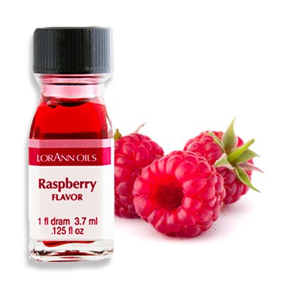 Raspberry Flavour Oil 3.7ml - LorAnn