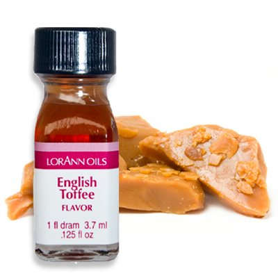 English Toffee Flavour Oil 3.7ml - LorAnn