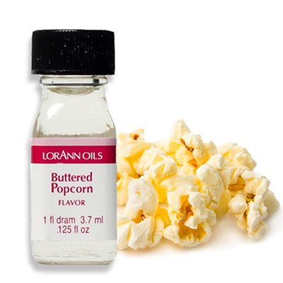 Buttered Popcorn Flavour Oil 3.7ml - LorAnn