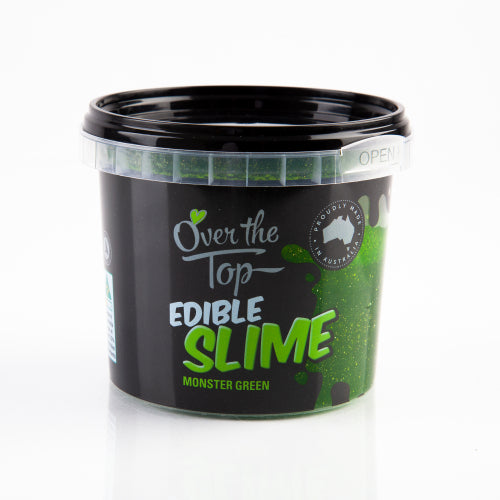 Monster Green Edible Slime - Over The Top