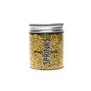 Sprinkles - Gold Metallic Jimmies 85g