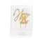 Cake Toppers - Happy 21st - Gold Plated Metal